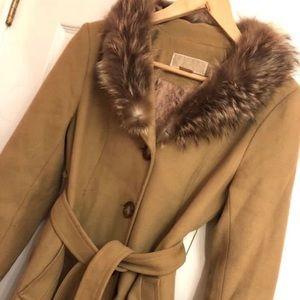 Real fur Michael kors coat